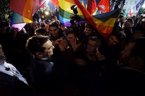 Syriza'nın LGBT Toplumuna Vaatleri