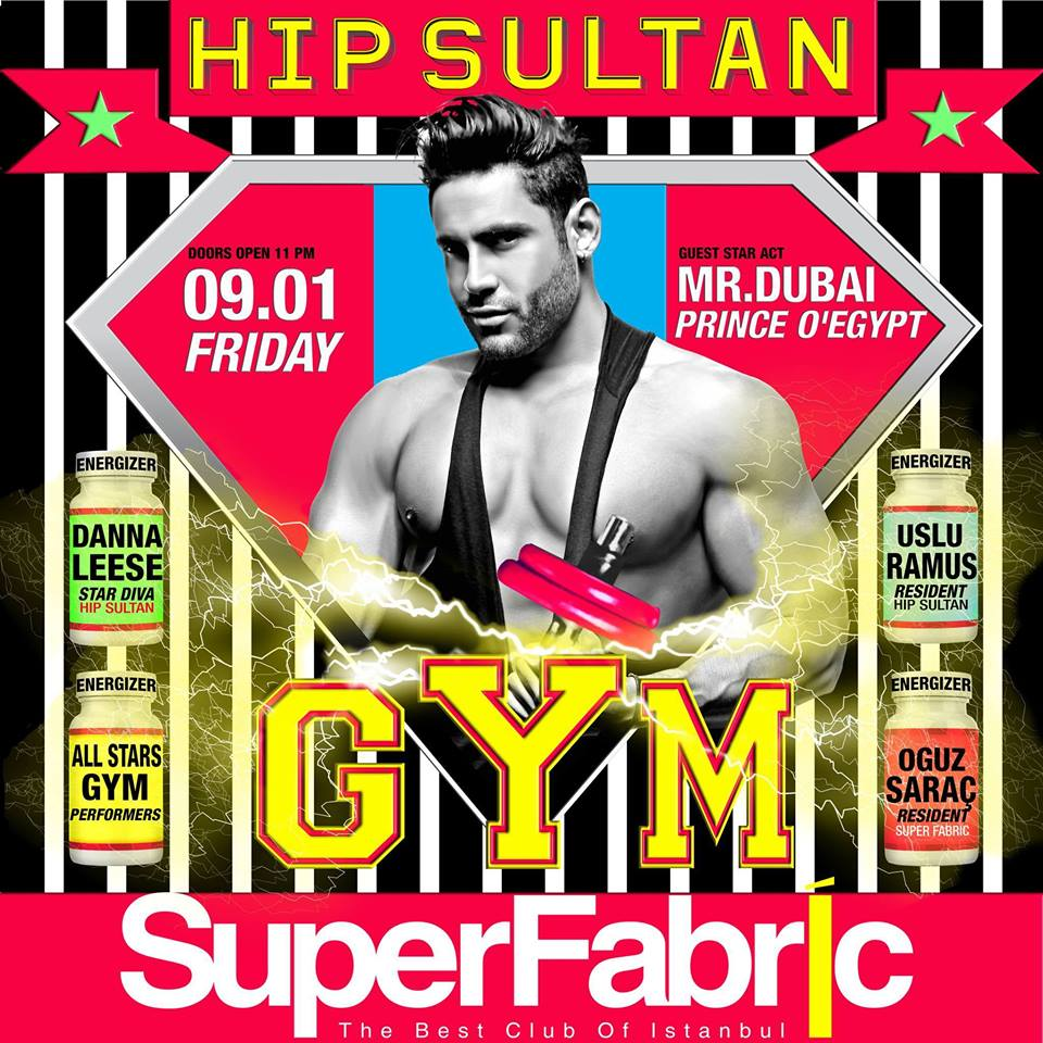 HIP SULTAN GYM PARTY