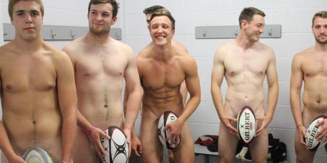 Çırılçıplak Bir Rugby Takımı Hayal Edin