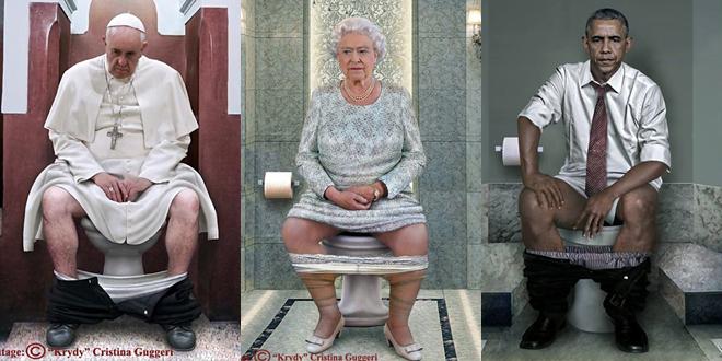Dünya Liderleri Tuvalete Girerse