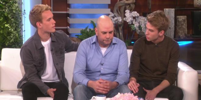 YouTube'da Açılan İkizler ve Babası Ellen Show'da