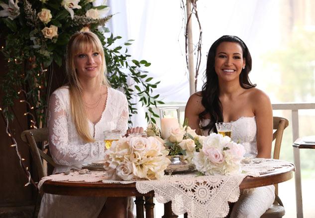 Glee'nin En Tatlı Çifti Brittany ve Santana Evleniyor!