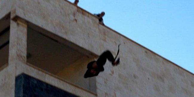 IŞİD Bir Kişiyi Daha Eşcinsel Olduğu Gerekçesiyle Çatıdan Attı