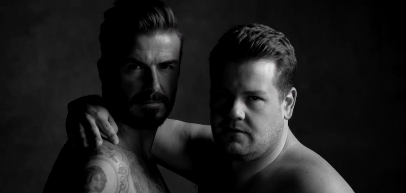 The Late Late Show'da Seksi Beckham Rüzgarı