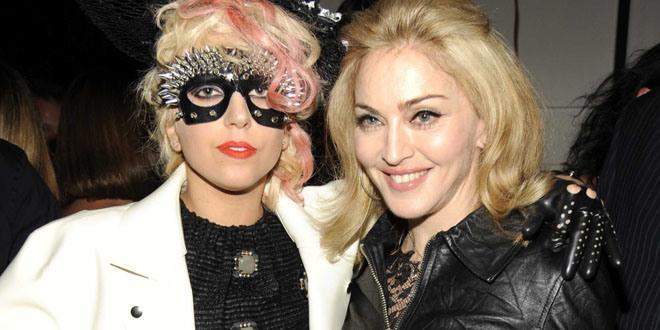 Madonna Lady Gaga'yı Affetti
