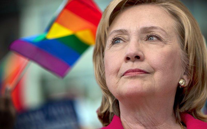 Hillary Clinton'dan LGBT Mücadelesine Tam Destek