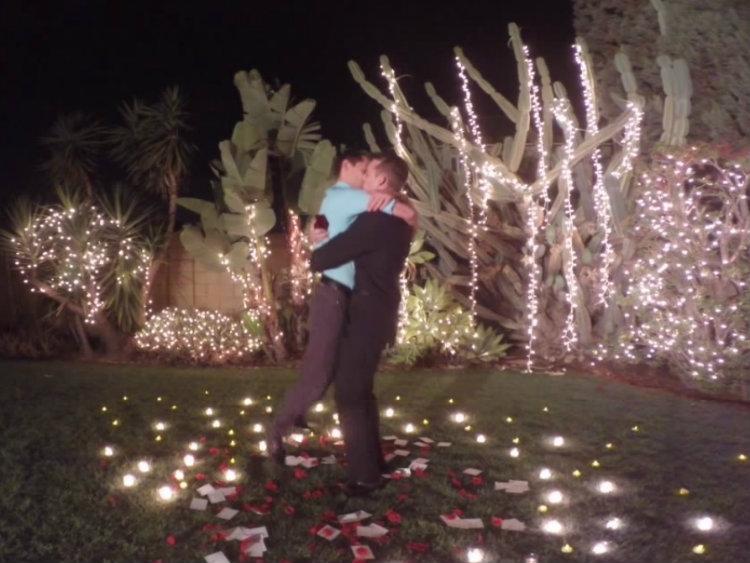 Instagram'da Tanışan Çiftin, Instagram'da Evlilik Teklifi