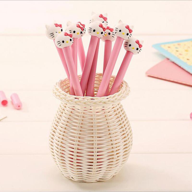 1-x-kawaii-font-b-pink-b-font-kt-cartoon-gel-pen-korean-stationery-writing-pens