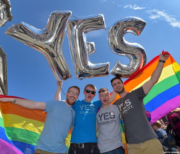 İrlanda'dan Eşcinsel Evliliğe Evet!