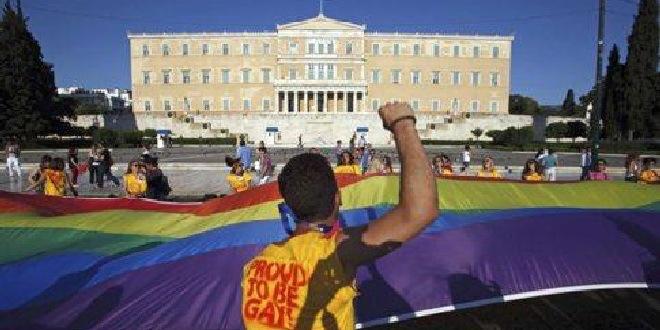 Atina'da Büyük Katılımlı Onur Yürüyüşü