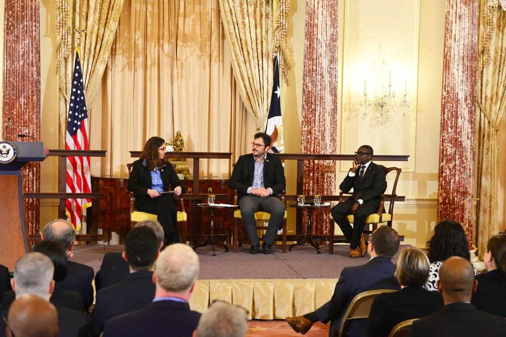 Boysan Yakar ABD'de Onur Haftası Kutlamasında Konuştu