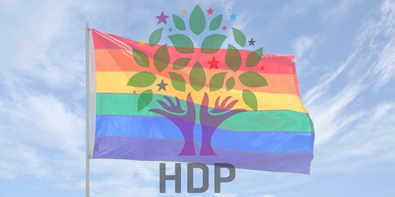 HDP Teşekkür Konuşmasında LGBTİ'leri Yok Saydı