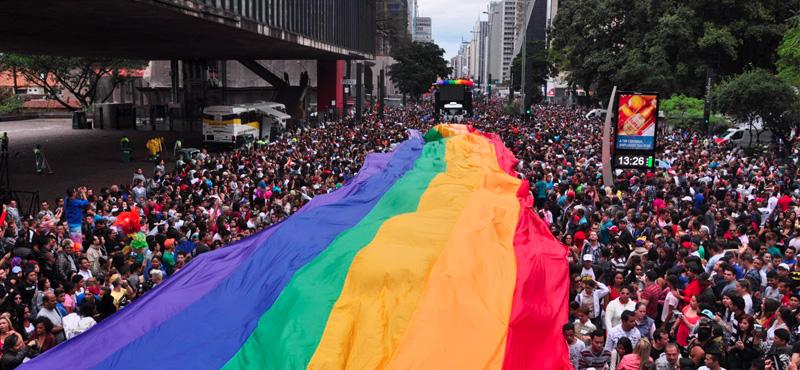 """Sao Paolo Dünya'nın En Büyük """"Gay Pride""""ına Ev Sahipliği Yapıyor"""