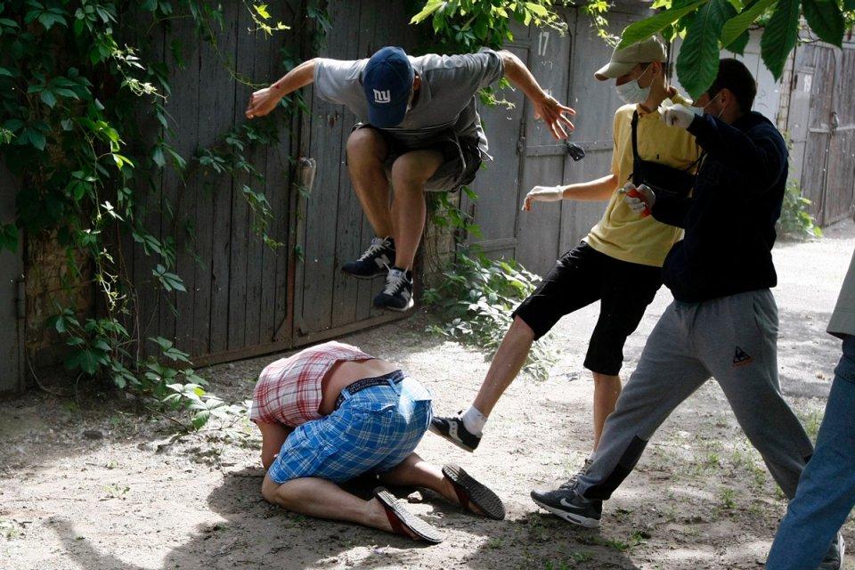 Kiev'deki Eşcinsel Onur Yürüyüşü'ne Çirkin Saldırı