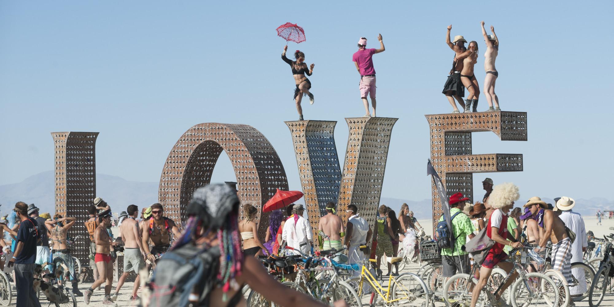 Para Geçmeyen Festival: Burning Man
