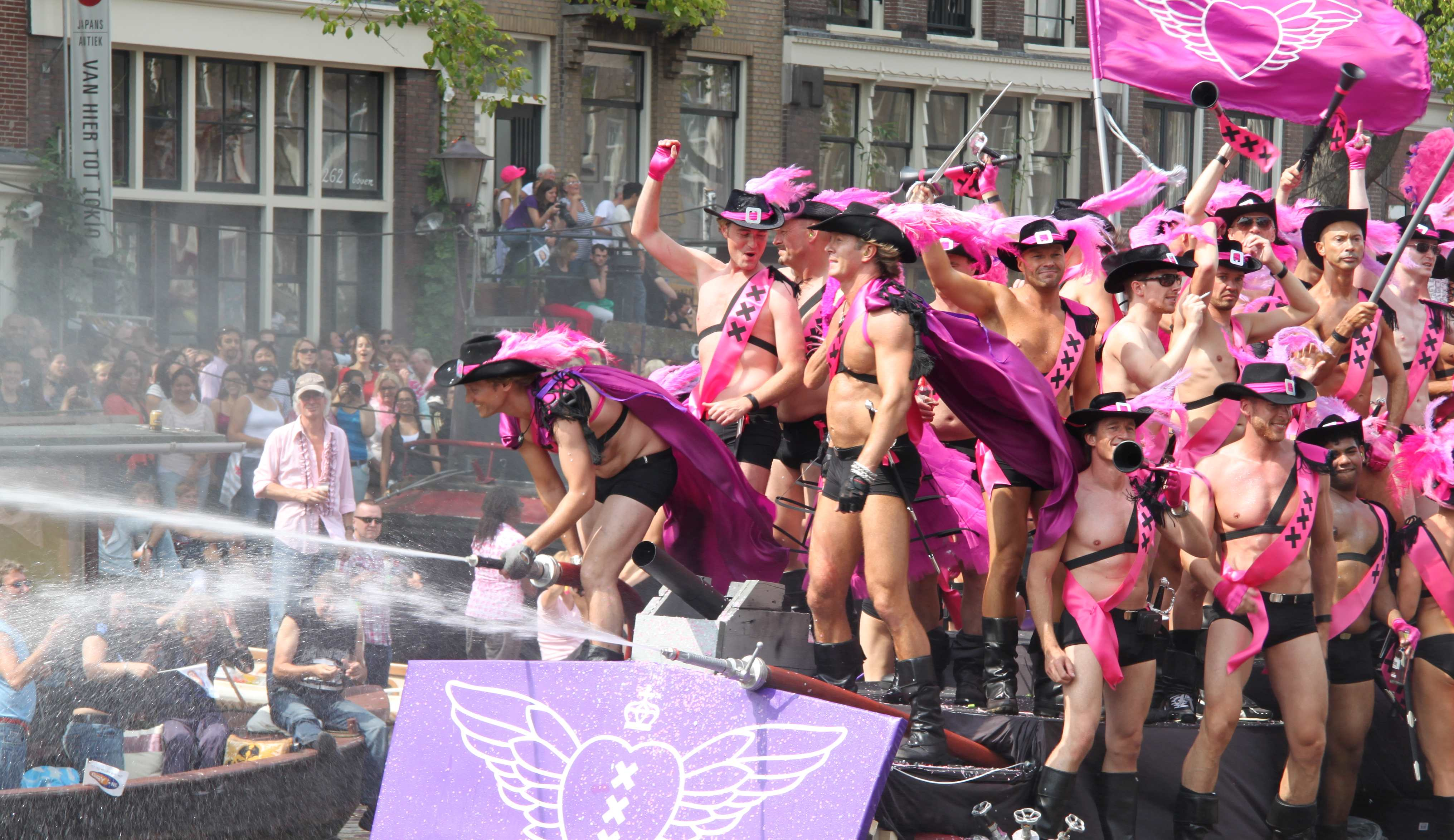 Amsterdam Canal Pride 2015