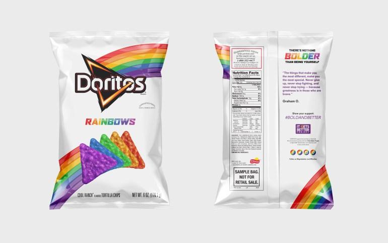Doritos Gökkuşağı Renklerine Büründü!