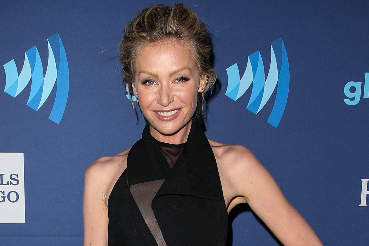 Portia de Rossi arrives at the 26th Annual GLAAD Media Awards