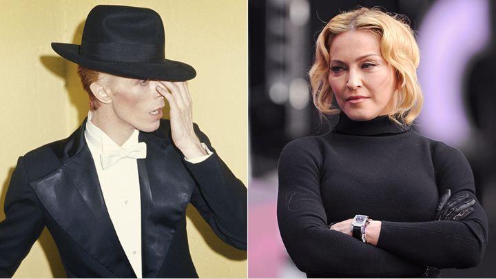 Madonna: David Bowie Hayatımın Akışını Sonsuza Dek Değiştirdi