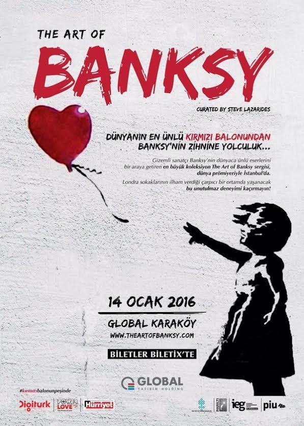 Dünyanın En Ünlü Kırmızı Balonu İstanbul'da