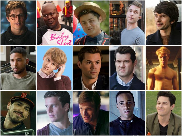 En Flört Edilesi 30 Eşcinsel TV Karakteri