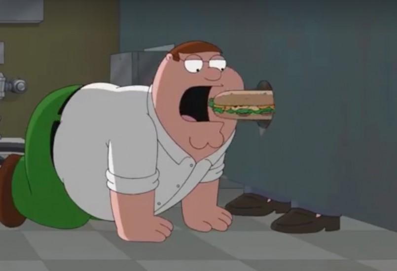 Family Guy'da Grindr Sahnesi