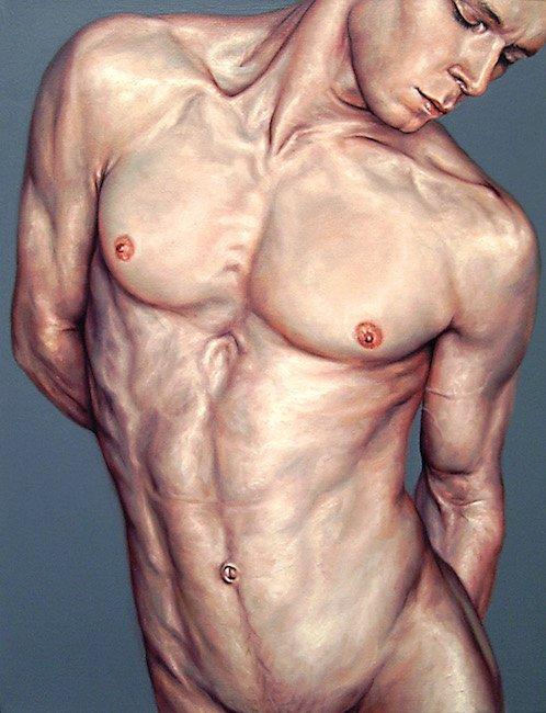 Erkek Formunu Gözler Önüne Seren 12 Yağlı Boya Resim