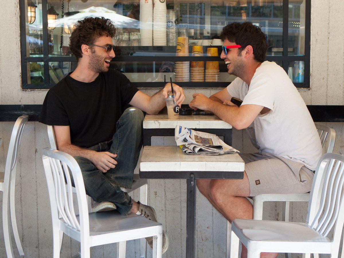 guys-drinking-coffee-in-tel-aviv