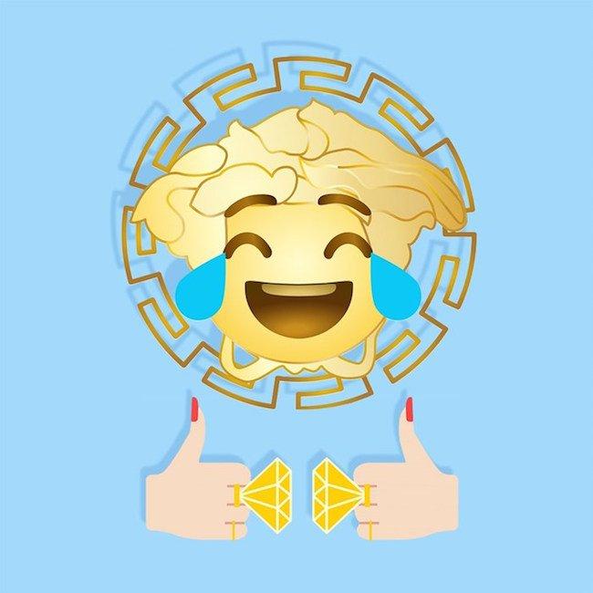 Versace 'den Emoji Uygulaması!