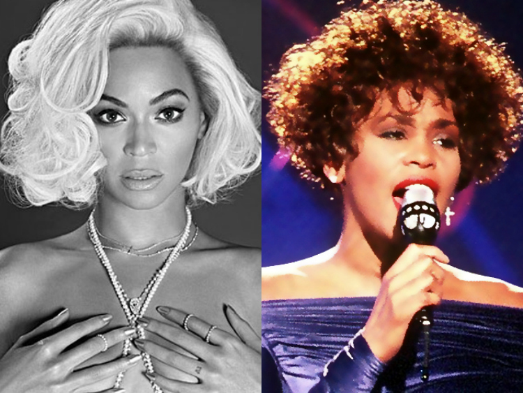 Beyonce Whitney Houston Coverı ile Sahnede !