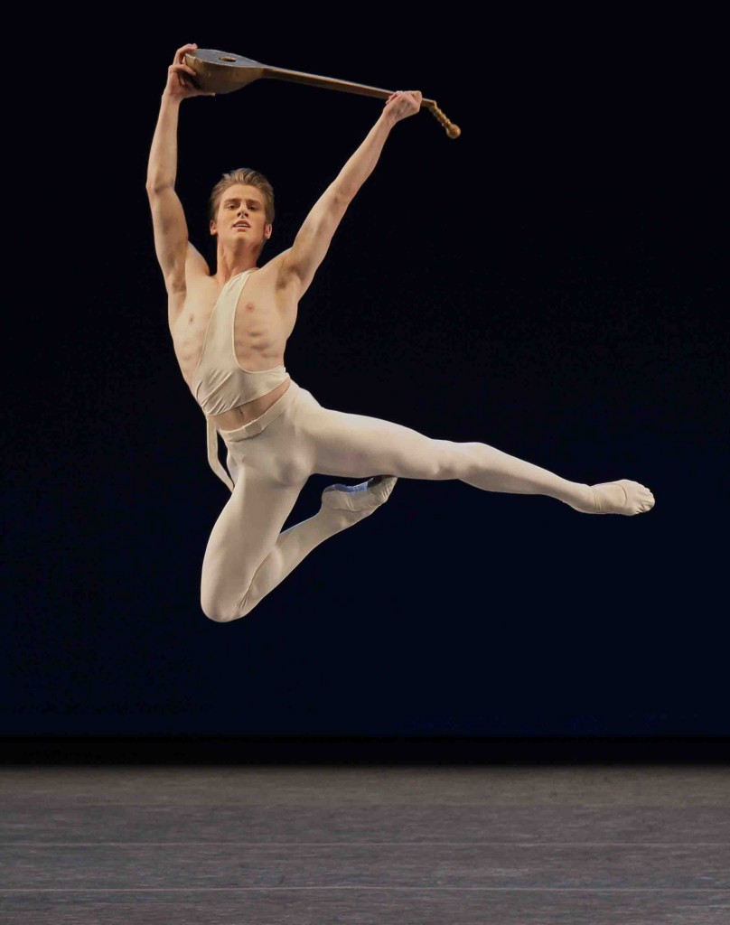 Chase Finlay as Apollo New York City Ballet Credit Photo: Paul Kolnik ©2011 Paul Kolnik Choreography ©The George Balanchine Trust studio@paulkolnik.com nyc 212-362-7778