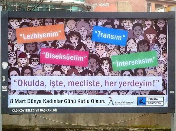 Kadıköy Belediyesi LGBT Afişleri Astı!