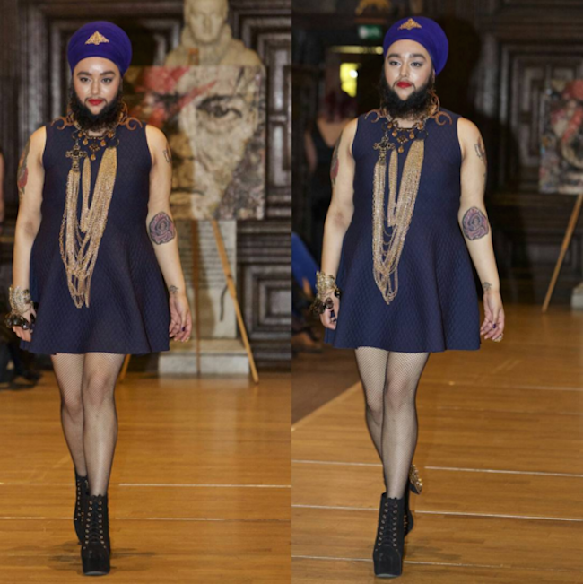 Sakallı Model Harnaam Kaur