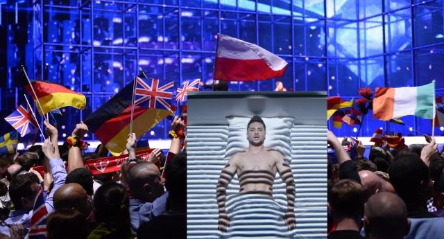 Eurovision'dan Gökkuşağı Bayrağa Ban!