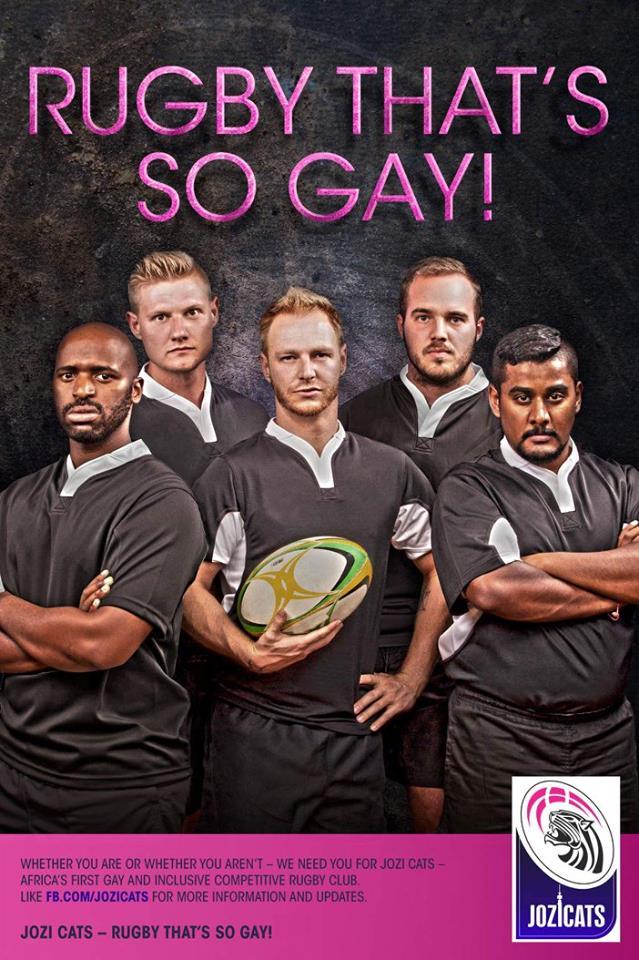 Güney Afrika'nın İlk Gay Rugby Takımı Ön Yargıları Yıkıyor