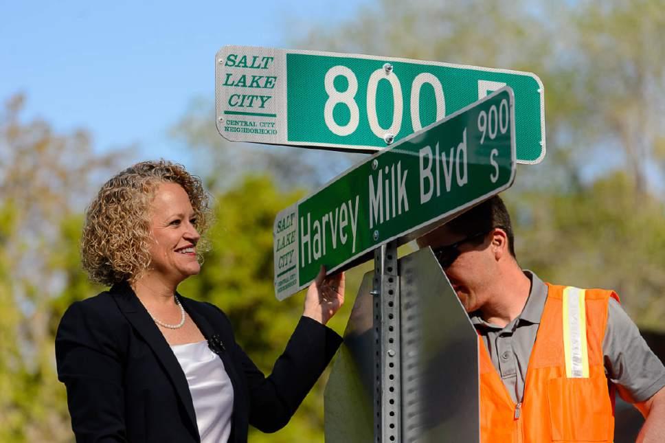 """Salt Lake City, """"Harvey Milk Bulvarı""""nı Hayata Geçiriyor"""