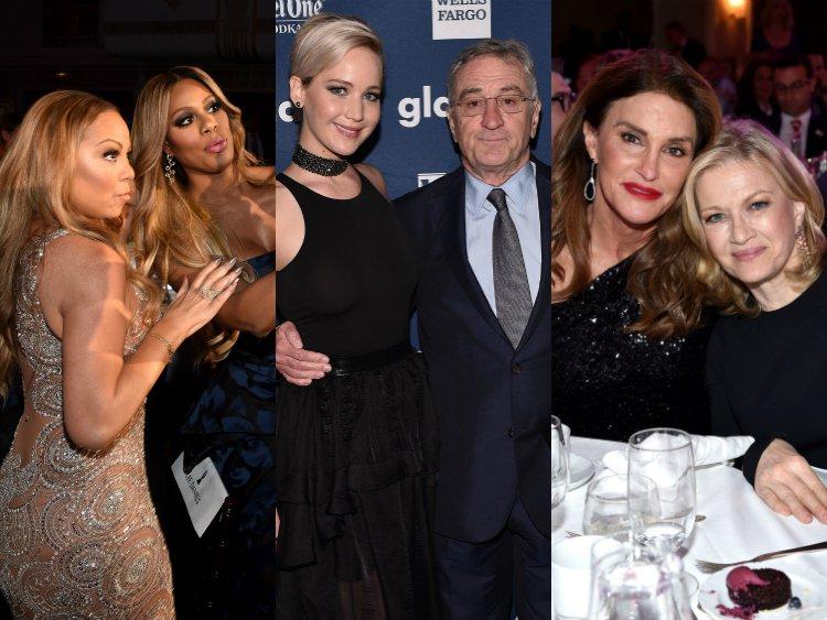 New York City GLAAD Medya Ödüllerinde Yıldız Geçidi