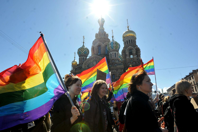 Rusya'nın Gökkuşağı Bayrağı Yasağına Doğal Çözüm