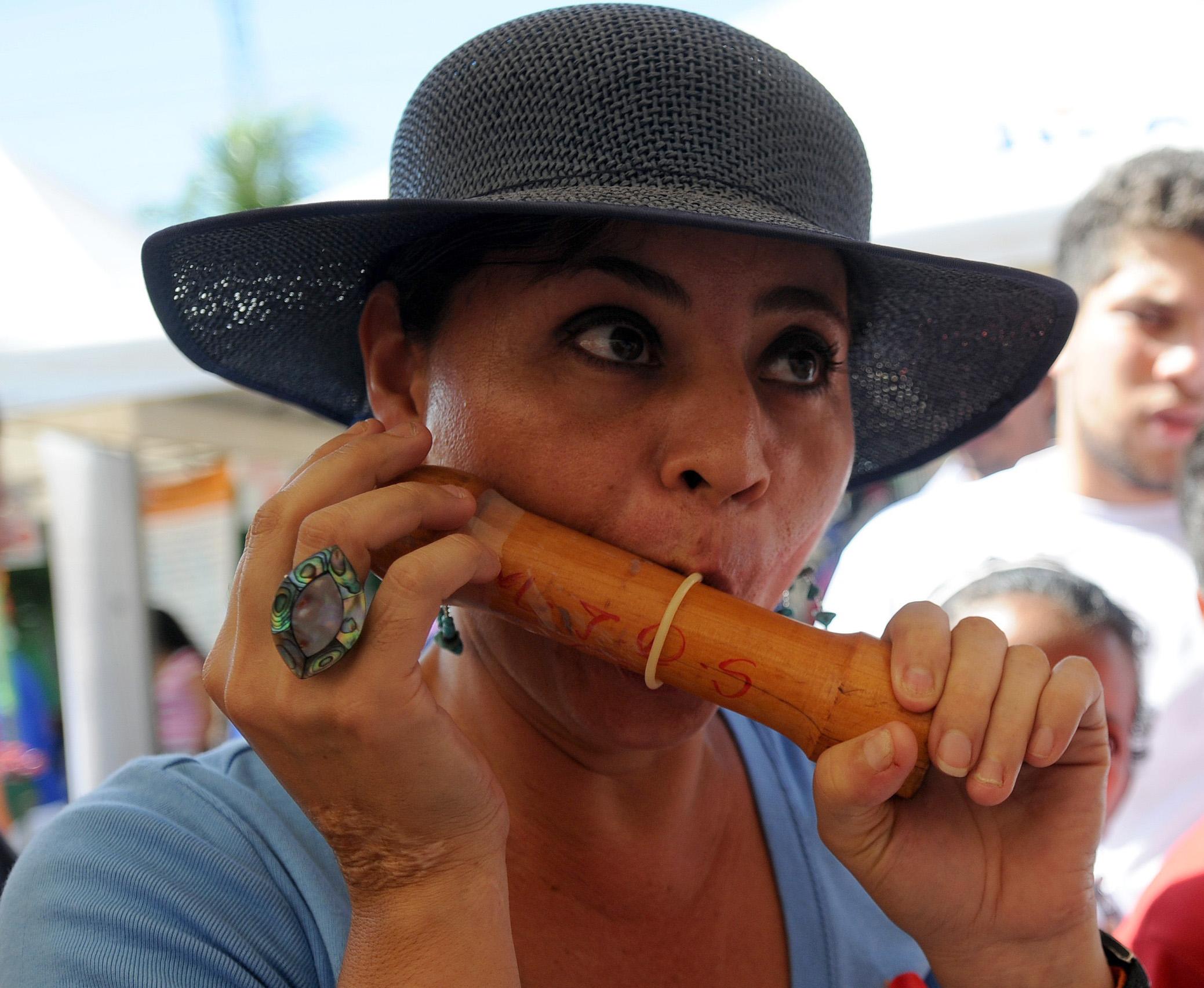 A Nicaraguan activist explains the use o