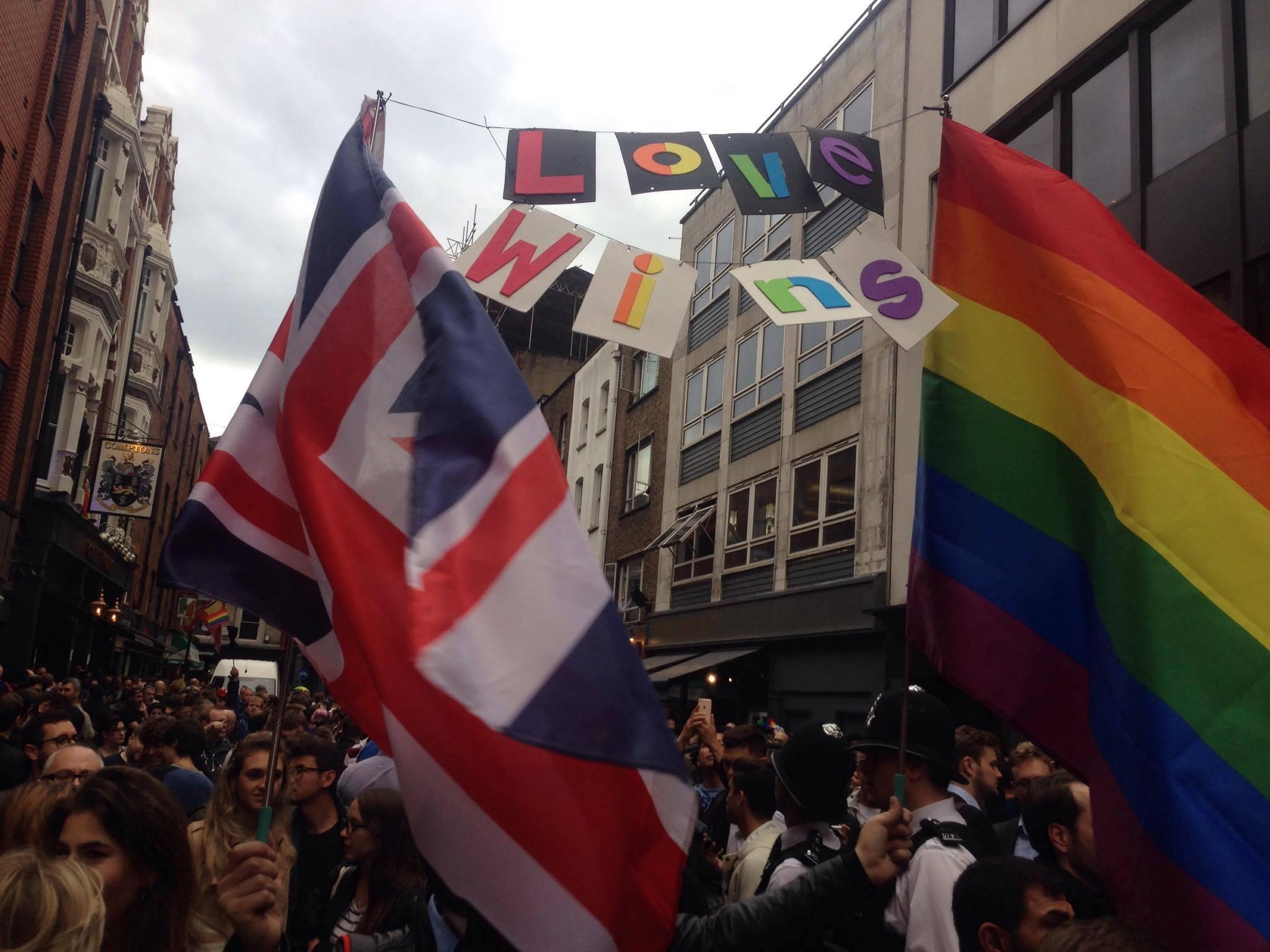 Galeri: Londra Sokakları Orlando'ya Destek İçin Doldu