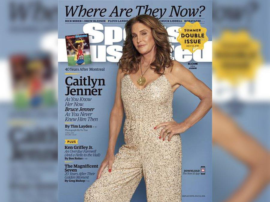Caitlyn Jenner, Sports Illustrated Kapağında Tarih Yazdı
