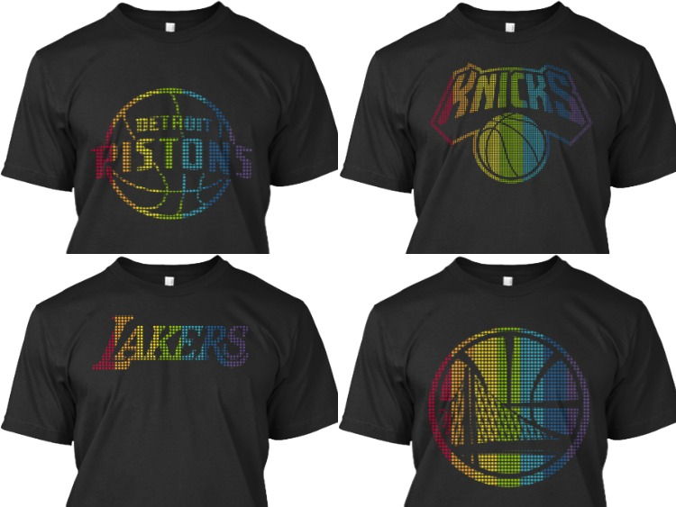NBA ve GLSEN'den Onur İçin Ortaklık;Tüm Logolara Gökkuşağı