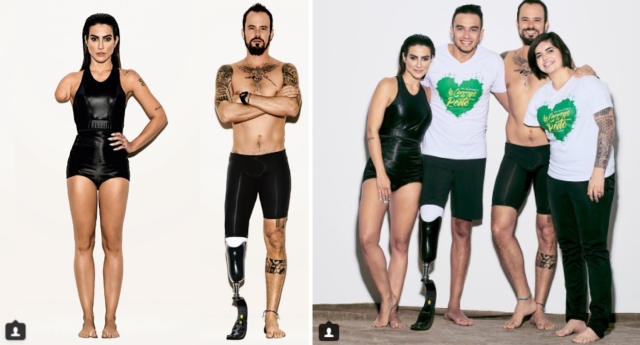 Vogue Brezilya Paralimpik Yarışmacıların Engellerini Modellerine Shopladı