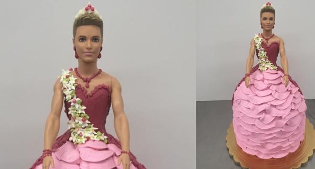 Ken'i Prenses Yapan Pastacıya Nefret Mesajları Yağıyor