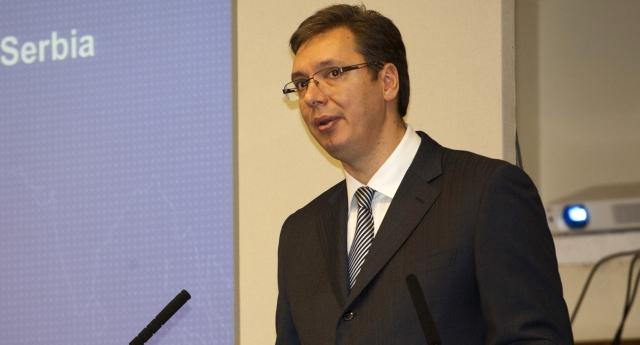 Serbian Prime Minister Aleksandar Vucic Attends The Serbian Investment Day