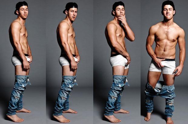 Nick Jonas'ı Çıplak Görmek Nasıl Bir His Merak Ettiniz Mi?
