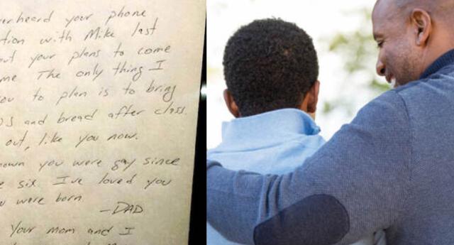 Kendisine Açılmayı Planlayan Gay Oğluna Mektup Yazan Süper Baba