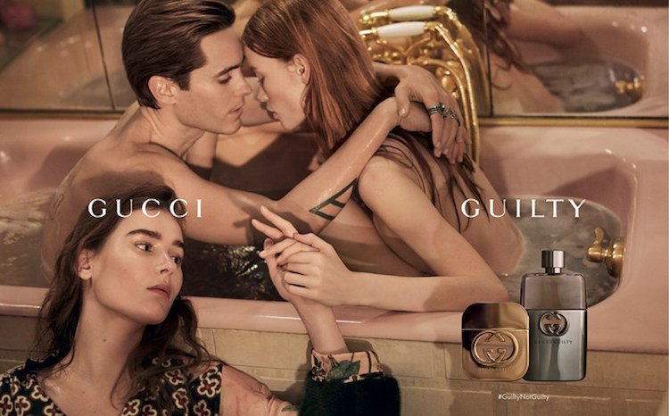 Jared Leto Guilty by Gucci İçin Üçlü İlişkiye Soyundu