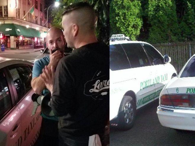 Taksi Şoförü, Gay Barın Önünde Hakaret Yağdırdı!