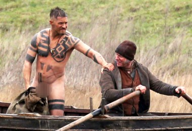"""Exclusive... 51965172 English actor Tom Hardy strips naked and jumps in a river while filming """"Taboo"""" in Essex, England on February 01, 2016. ***NO WEB USE W/O PRIOR AGREEMENT - CALL FOR PRICING***  ***No Web / Online / Digital Reproduction Until Tuesday 6am GMT ** English actor Tom Hardy strips naked and jumps in a river while filming """"Taboo"""" in Essex, England on February 01, 2016. ***NO WEB USE W/O PRIOR AGREEMENT - CALL FOR PRICING***  ***No Web / Online / Digital Reproduction Until Tuesday 6am GMT ** FameFlynet, Inc - Beverly Hills, CA, USA - +1 (310) 505-9876 RESTRICTIONS APPLY: USA/CHINA ONLY"""